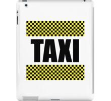 Taxi Cab iPad Case/Skin
