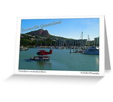 The Red Baron on the Breakwater Marina Greeting Card