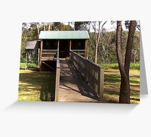 Wannon Falls Dunny, Victoria Greeting Card