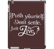 Just Live iPad Case/Skin