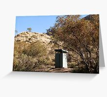 Ormiston Gorge Dunny, Central Australia Greeting Card