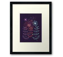Dainty Garden Framed Print