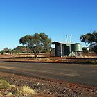 Poddy Creek Rest Stop Dunny, Queensland by RedNomadOZ
