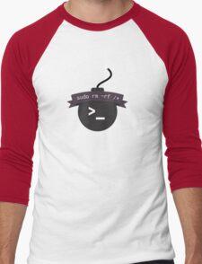 sudo rm -rf /* Men's Baseball ¾ T-Shirt