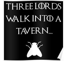 Three lords walk into a tavern Poster
