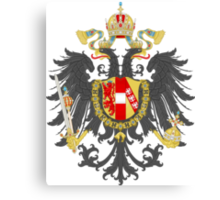 Imperial Coat of Arms of the Austrian Empire Canvas Print