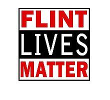 Flint Lives Matter Photographic Print