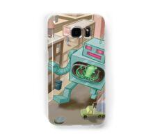 Robot vs. Squid Samsung Galaxy Case/Skin