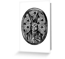 Sir Rabbit Greeting Card