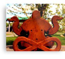 Rusty Zen Metal Print