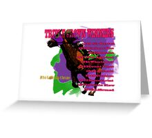 Triple Crown Winners Greeting Card