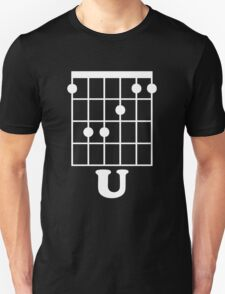 Fun Guitar, Say F*ck You With Guitar Chord Unisex T-Shirt