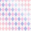 Pastel Argyle by SpiceTree