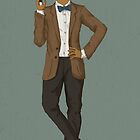 Janelle Monáe 11th Doctor by Bailey  Watro