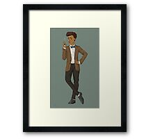 Janelle Monáe 11th Doctor Framed Print