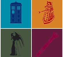 Pop art with Doctor Who by Ozwin