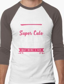 I Never Dreamed I Would Be A Super Cute English Teacher, But Here I Am Killing It. Men's Baseball ¾ T-Shirt