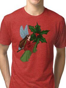 Holly Fairy Tri-blend T-Shirt