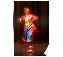 The Colours of Indian dance  Poster