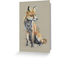 Out-foxed Greeting Card