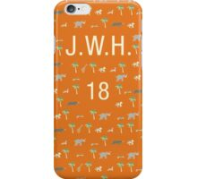 Pattern JWH 18 Darjeeling Limited & Hotel Chevalier iPhone Case/Skin