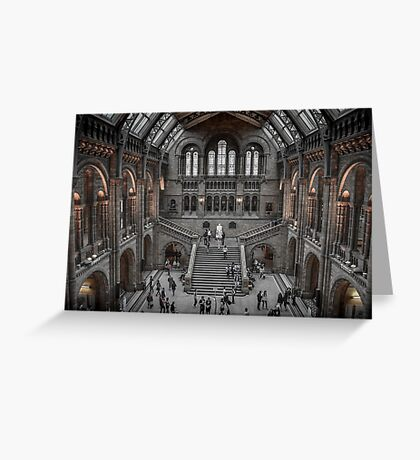 The Natural History Museum London Greeting Card