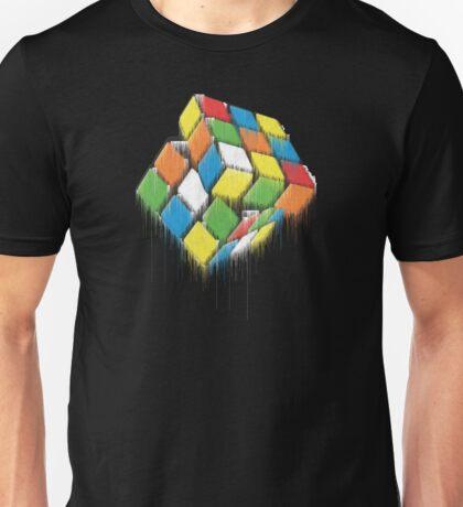 Wet Rubik's Cube Unisex T-Shirt