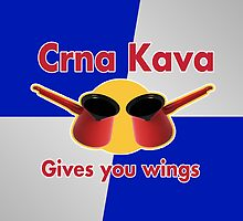 Crna Kava gives you wings by adma101