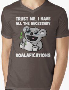 Trust Me, I Have All The Necessary Koalafications Mens V-Neck T-Shirt