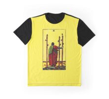 Three of Wands Tarot Card  Graphic T-Shirt