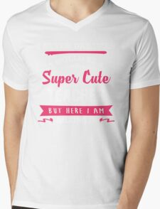 I Never Dreamed I Would Be A Super Cute Teacher, But Here I Am Killing It. Mens V-Neck T-Shirt