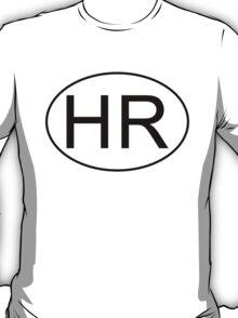 HR logo oval FOR LIGHT BKGND T-Shirt