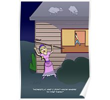 Little Bo-Peep (in search of sheep) Poster
