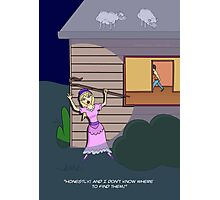 Little Bo-Peep (in search of sheep) Photographic Print
