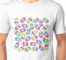 Retro 80's 90's Neon Colorful Ring Candy Pop Unisex T-Shirt