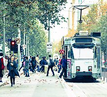 Melbourne Street Series by jamespaullondon