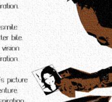 Rich Picture Poem Sticker