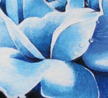 Blue rose 2 Sticker