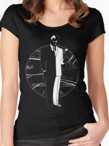 Two Face and Coin Women's Fitted Scoop T-Shirt