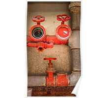 Perplexed Pipes Poster
