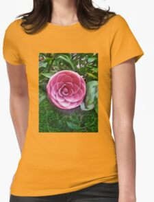 Light Of The Garden Womens Fitted T-Shirt