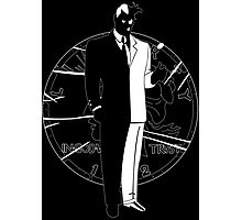 Two Face and Coin Photographic Print