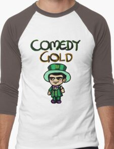 Comedy Gold Men's Baseball ¾ T-Shirt