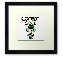Comedy Gold Framed Print
