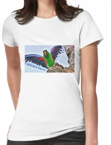 Fly And Shine Womens Fitted T-Shirt