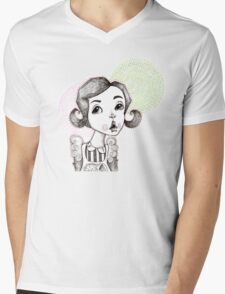 Soda Shop Bop Mens V-Neck T-Shirt
