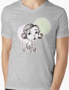 Soda Shop Bop Mens V-Neck T-Shirt