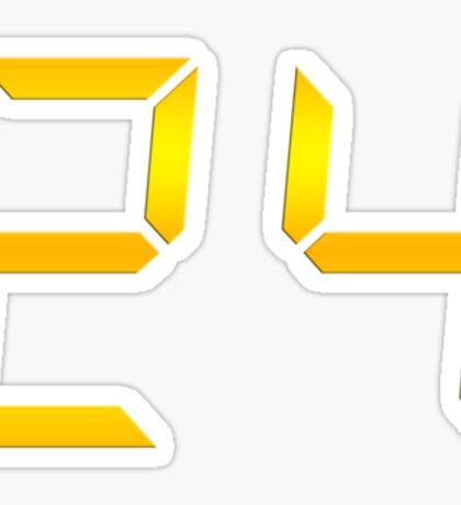 24 Logo Sticker