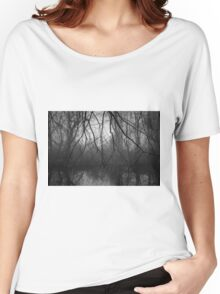 Three Mile River III BW Women's Relaxed Fit T-Shirt