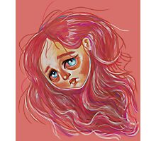 Floating Red Head Photographic Print